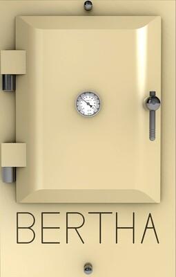 Bertha ™ печь-гриль. Цвет: светло-бежевый RAL 1015