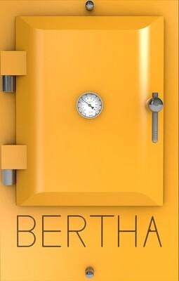 Bertha ™ печь-гриль. Цвет: желтый RAL 1021
