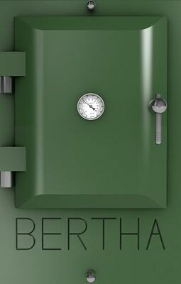 Bertha ™ печь-гриль. Цвет: темно-зеленый RAL 6020