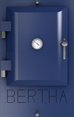 Bertha ™ печь-гриль. Цвет: темно-синий RAL 5011