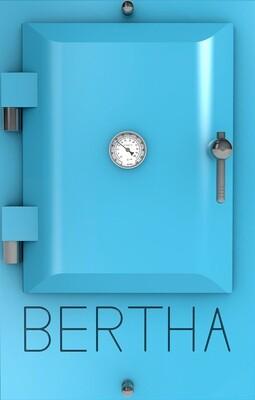 Bertha ™ печь-гриль. Цвет: светло-голубой RAL 5024