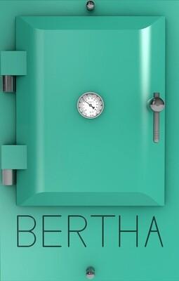 Bertha ™ печь-гриль. Цвет: бирюзовый RAL 6027.