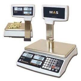 Весы электронные торговые со стойкой MAS MR1-30P