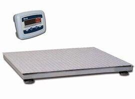 Весы платформенные MAS PM4PЕ-1.0 1212 (с индикатором на стойке)