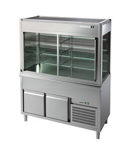 Витрина холодильная Apach Chef Line LDRS8SL3T12RCF
