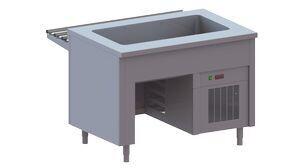 Ванна холодильная Apach Chef Line LWR8S23OC