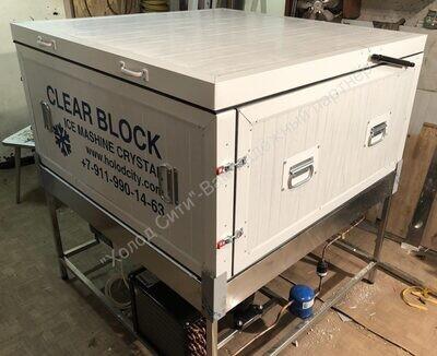 Лёдогенератор прозрачного (блочного) льда Кристалл