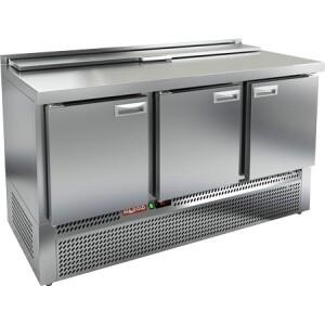 Стол для салатов Hicold SLE2-111GN Б/КРЫШКИ