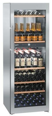 Шкаф винный вент.метал. Liebherr WTPES 5972 НЕРЖ.