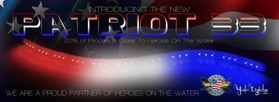 (Single Strip) Patriot 33 - Heroes on the Water Special Edition Light Strip