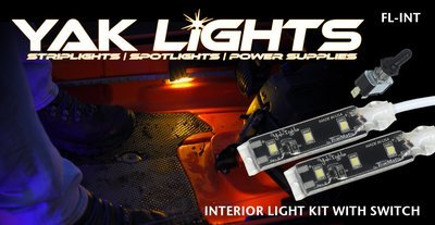 INTERIOR LIGHT KIT WITH WATERPROOF SWITCH - ULTRA LOW PROFILE WATERPROOF LED LIGHTS