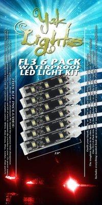 FL3 Mini LED Light Strips 6-Pack (QTY 6)