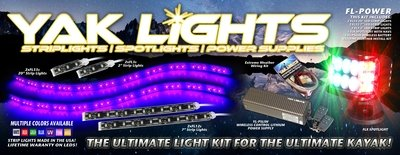 FL-POWER Lighting Kit - The Perfect light and power rig for your new Bonafide, Wilderness, Native, Jackson and more!