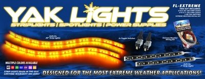 FL-EXTREME Lighting Kit - The Perfect light kit for the extreme kayaker!