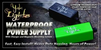 BLEM MODEL - YL-PSLi Yak Lights WaterProof Lithium Power Supply