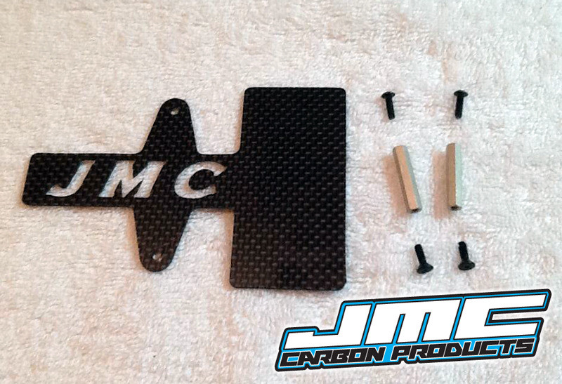 TLR/Losi  22SCT MidMotor Battery Hold-down/ESC Mount.