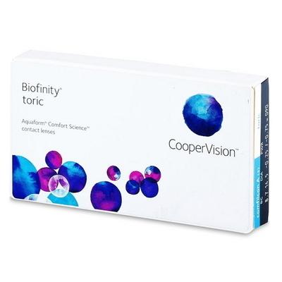 Cooper Vision Biofinity toric (Pack/ 3 Lenses)