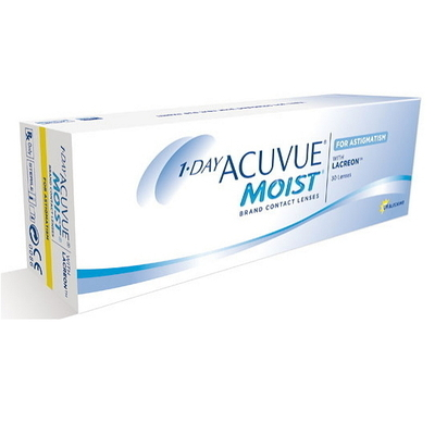 1 DAY ACUVUE MOIST for Astigmatism (Toric)