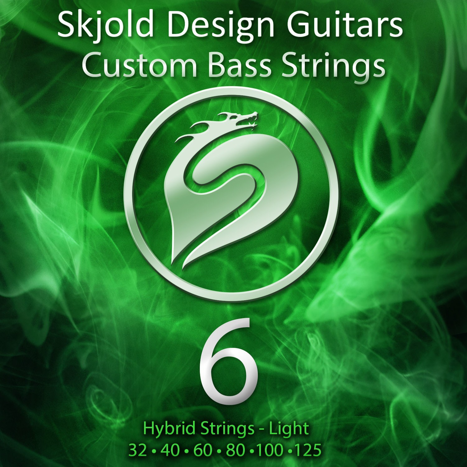 Hybrid Nickel/Steel - Light 6 String