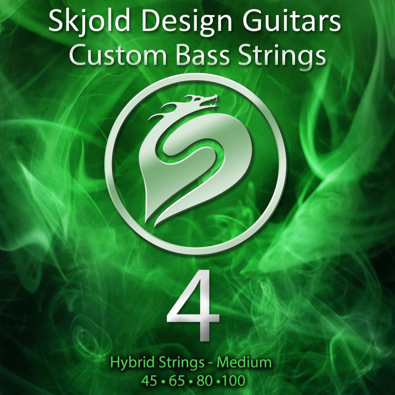 Hybrid Nickel/Steel - Medium 4 String