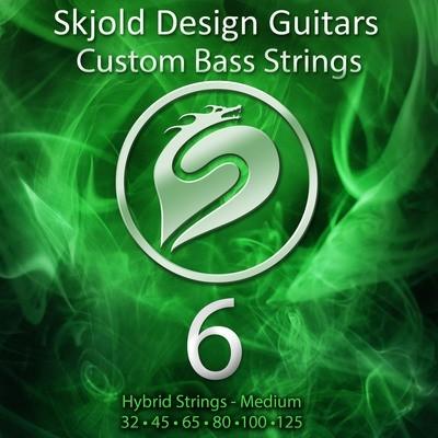 Hybrid Nickel/Steel - Medium 6 String