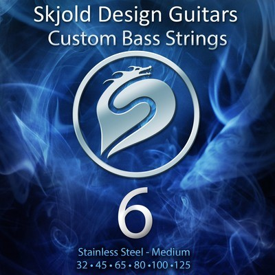 Stainless Steel - 6 String Medium