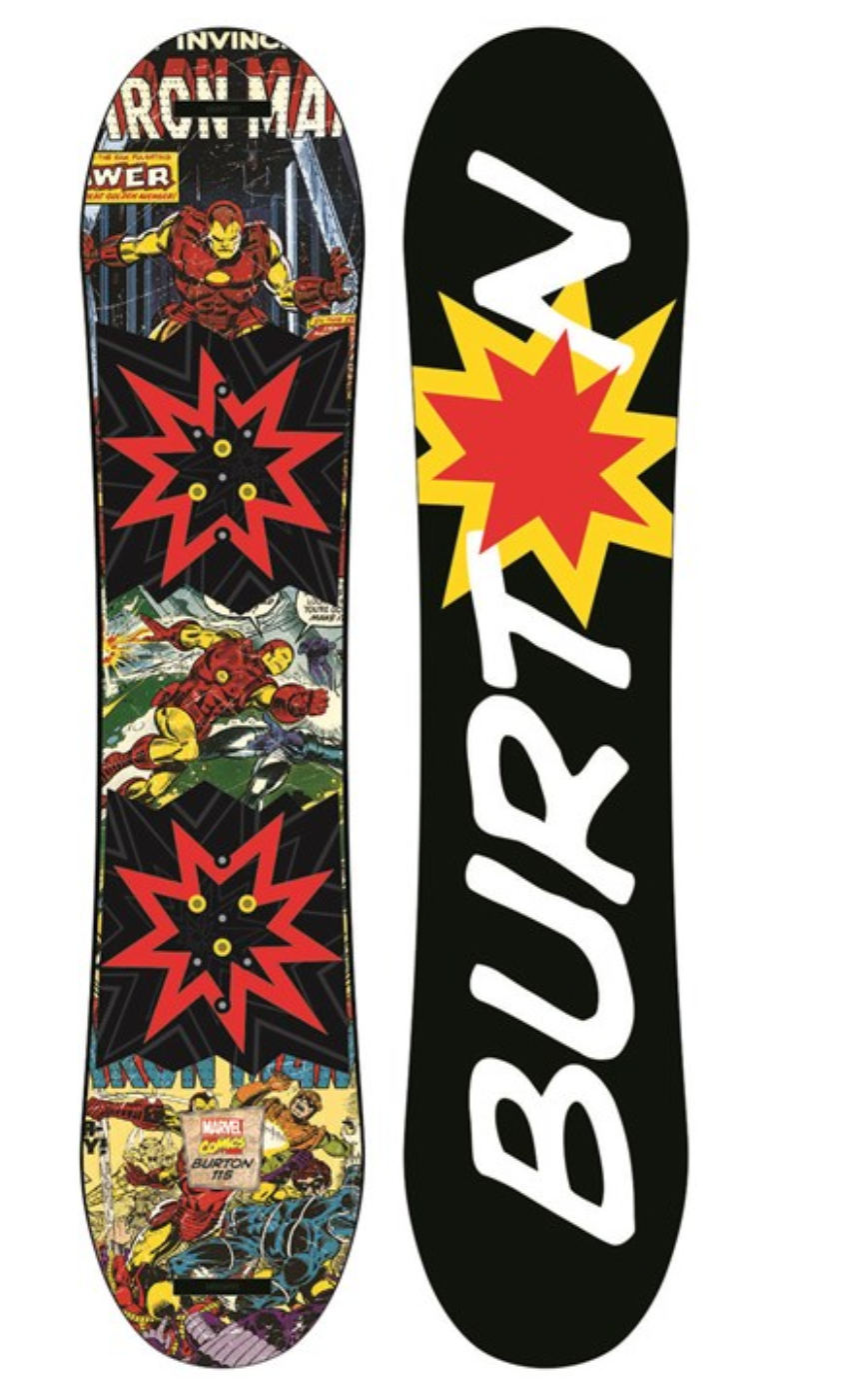 Burton Chopper LTD Marvel Snowboard - Boys' 2017