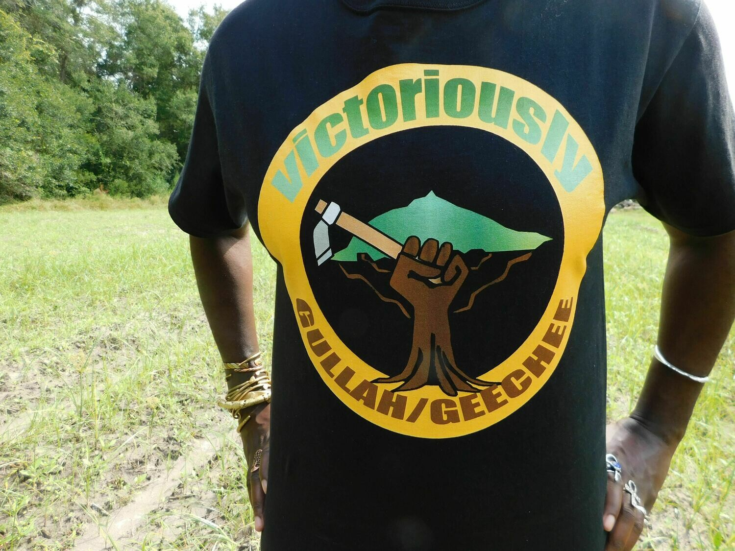 Black Gold Victoriously Gullah/Geechee T