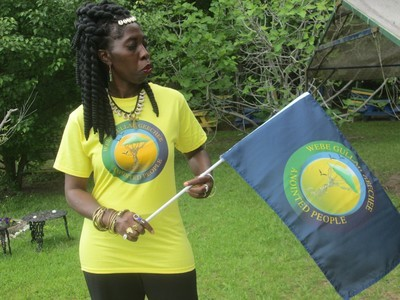 Gullah/Geechee Nation Hand Held Flag