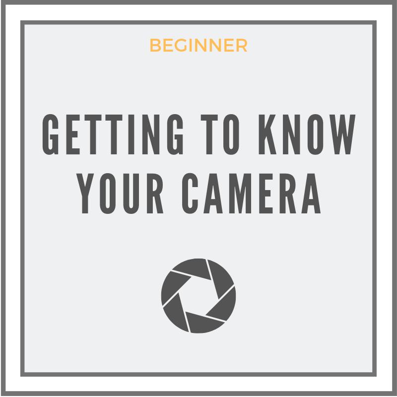 Getting To Know Your Camera