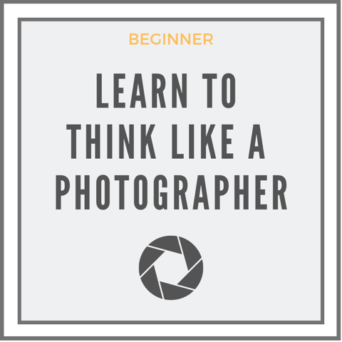 Learn To Think Like A Photographer