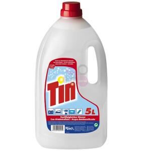 Gedemineraliseerd water Tin