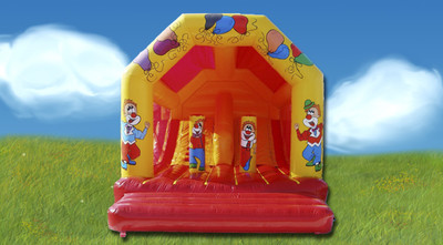 Springkasteel Clown Slide