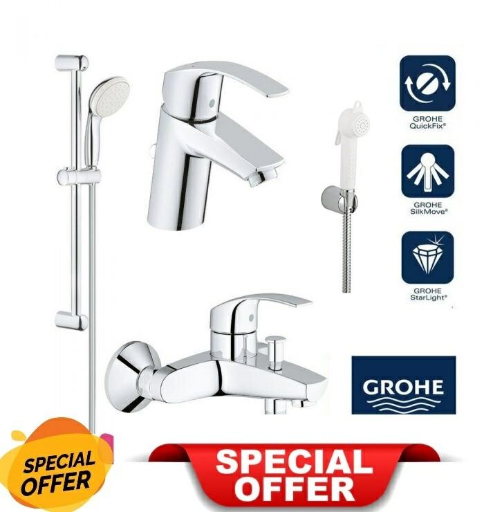 GROHE FULL SET BATHROOM  SHOWER