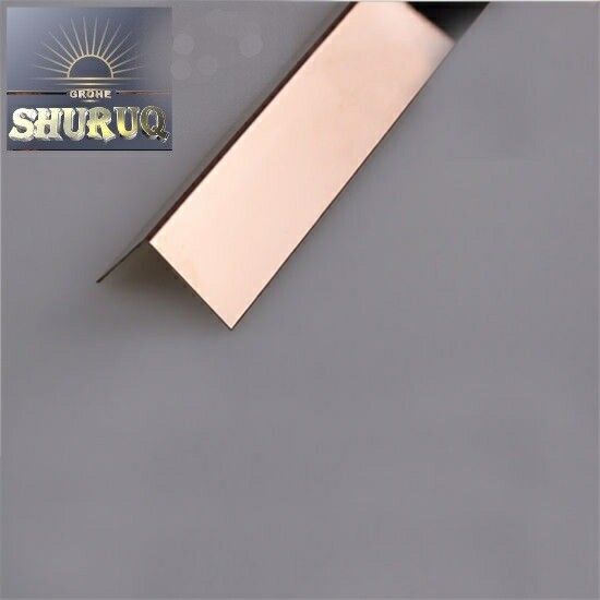 CORNER PROTECTION PROFILE FOR WALL (ROSE GOLD) 15 mm