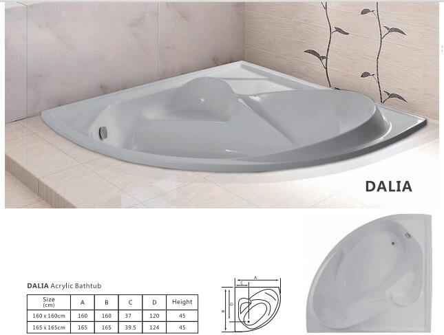 Dalia Acrylic Bathtub