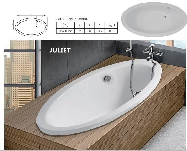 Juliet Acrylic Bathtub