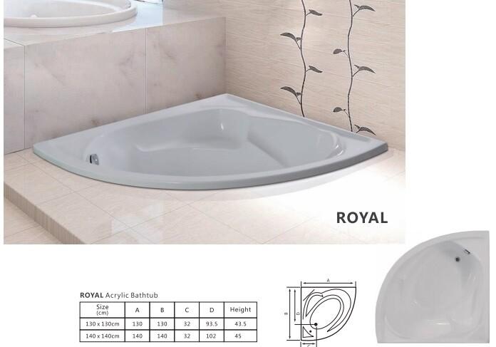 Royal Acrylic Bathtub