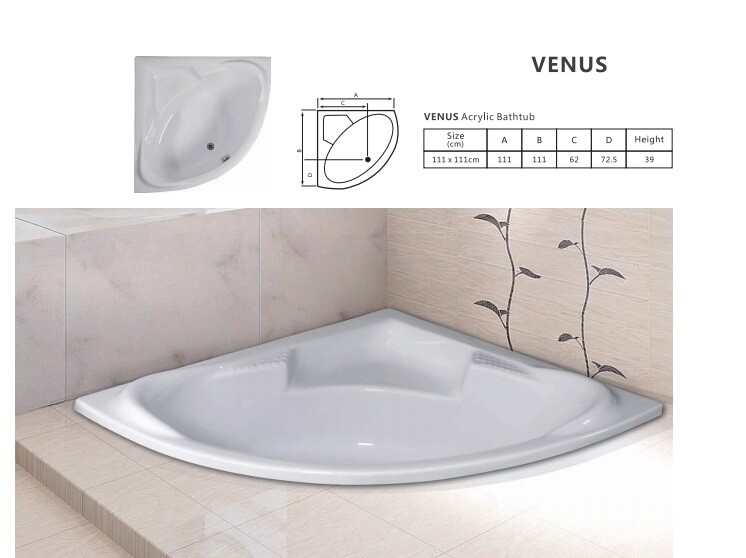 Venus Acrylic Bathtub
