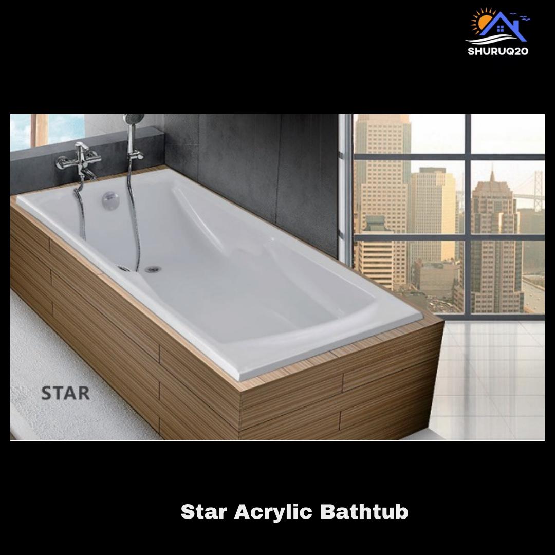 Star Acrylic Bathtub