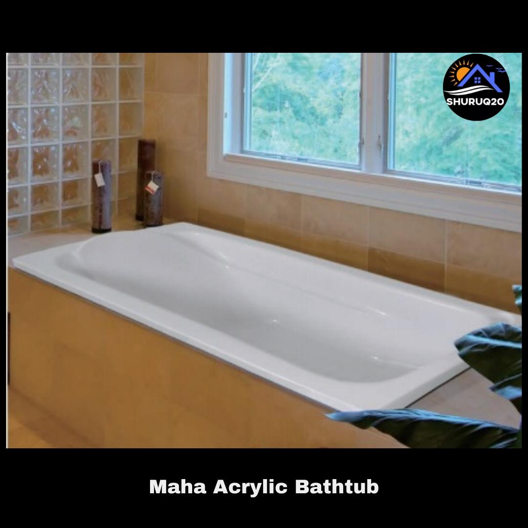 Maha Acrylic Bathtub