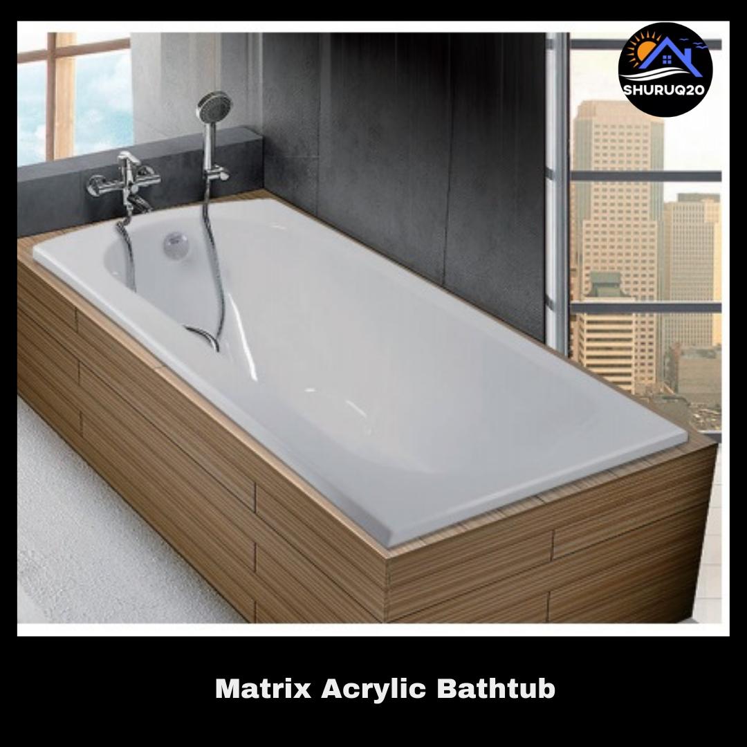 Matrix Acrylic Bathtub
