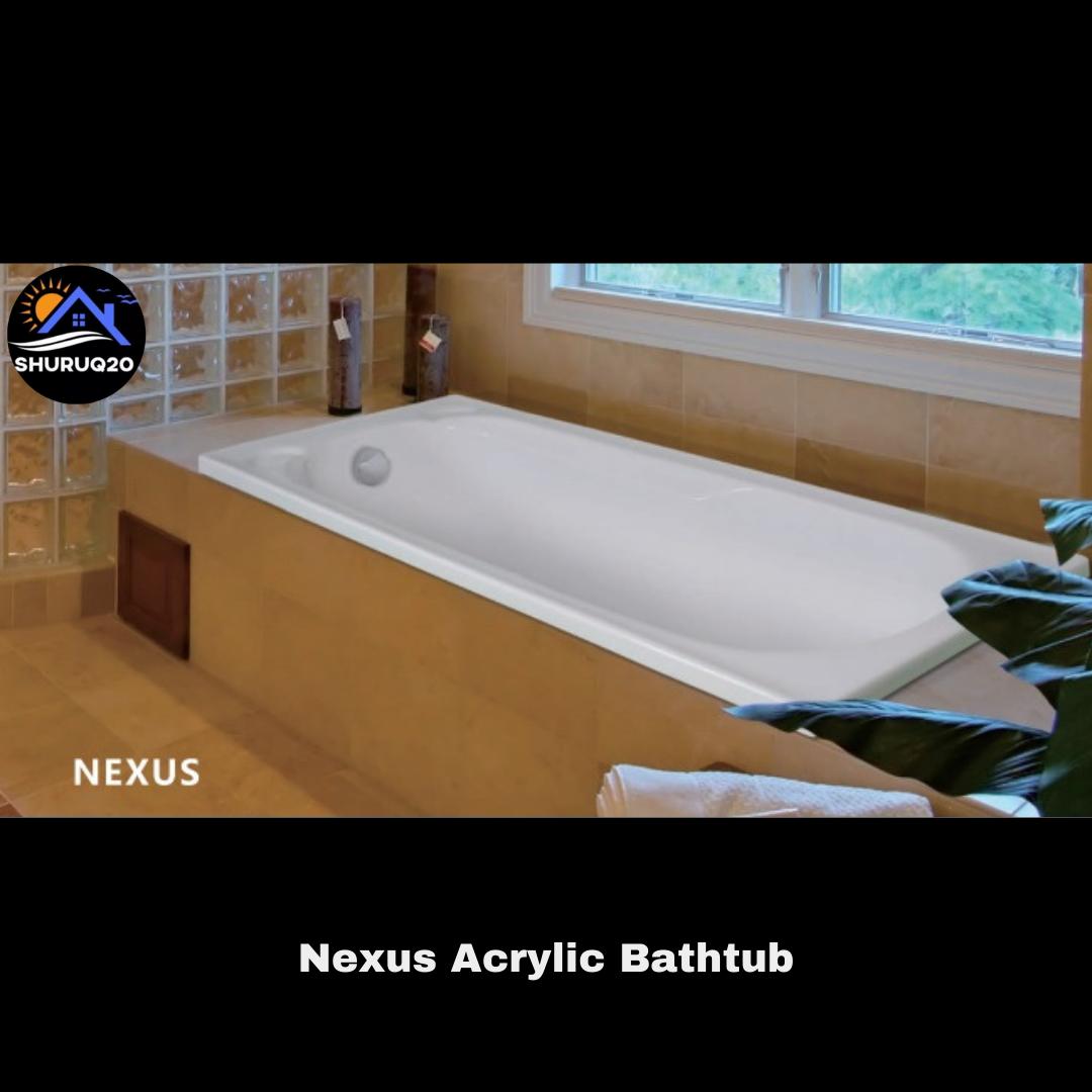 Nexus Acrylic Bathtub