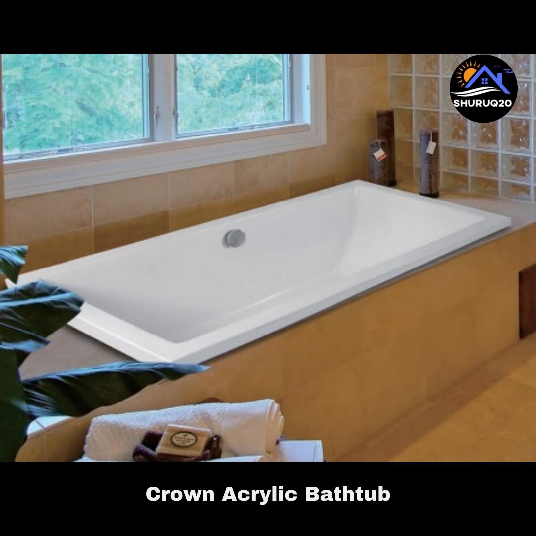 Crown Acrylic Bathtub