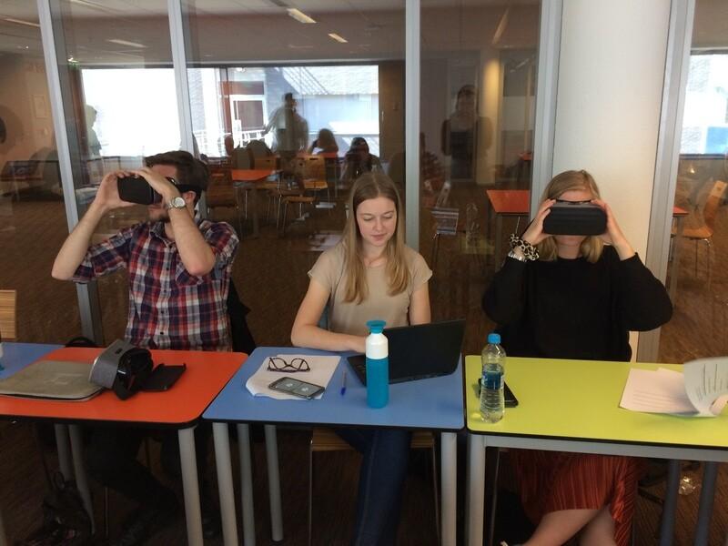 VR in het onderwijs