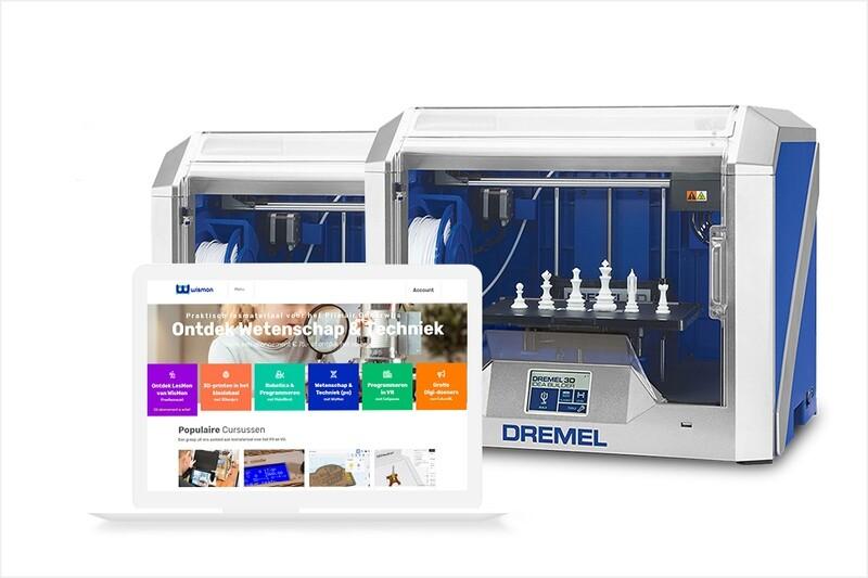 2x Dremel 3D40 Idea Builder met Leapo abonnement