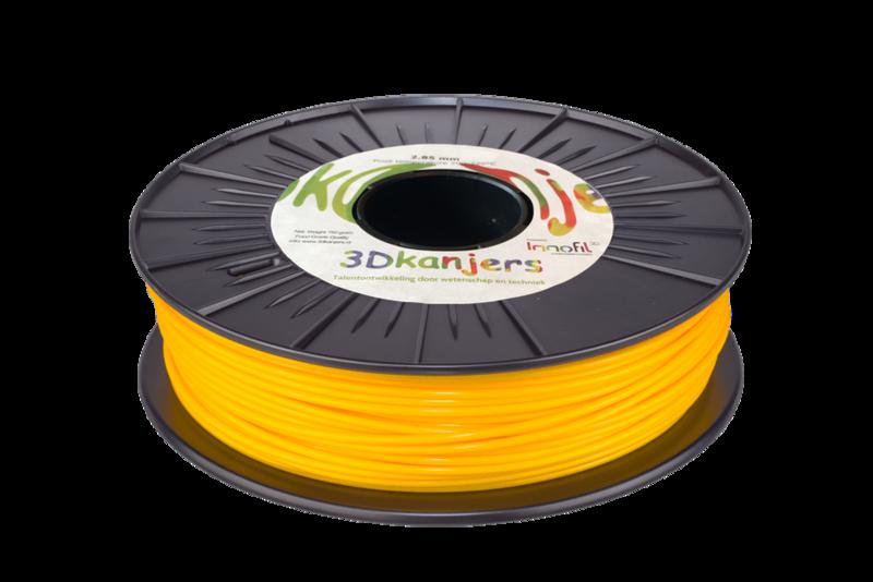3Dkanjers PLA-Filament Geel