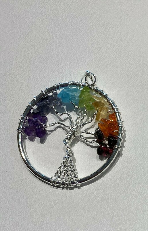 Chakra Tree of Life Pendants