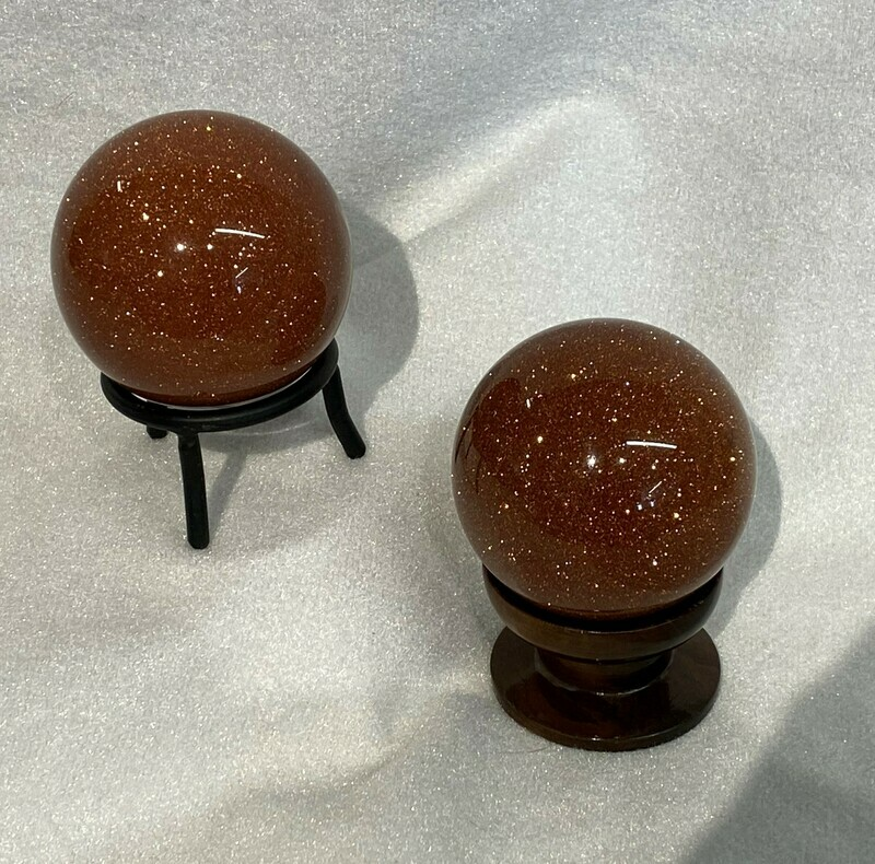 Beautiful Goldstone Spheres