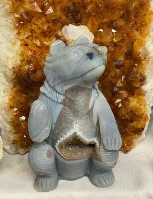 Brazilian Agate Bear